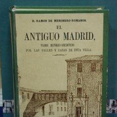 Gebrauchte Bücher - El antiguo Madrid, paseos historicos-anecdóticos ... . Ramón de Mesonero Romanos - 136450402