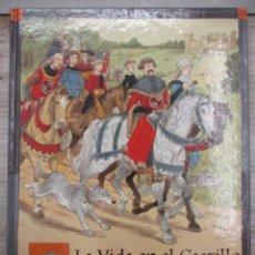 Libros de segunda mano: LA VIDA EN EL CASTILLO - DIARIO DE GUILLERMO BURGO, PAJE - ED. PARRAMÓN - 1ª EDICIÓN OCT - 1999.. Lote 136482178