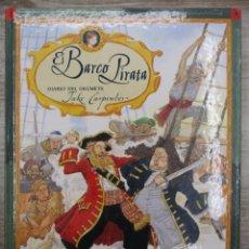 Libros de segunda mano: EL BARCO PIRATA - DIARIO DEL GRUMETE - JAKER CARPENTE - ED. PARRAMÓN . Lote 136482414