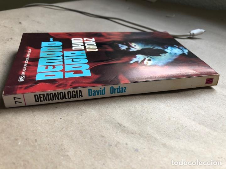 Libros de segunda mano: DEMONOLOGIA. DAVID ORDAZ. EDITORIAL BRUGUERA 1977. - Foto 7 - 136488416