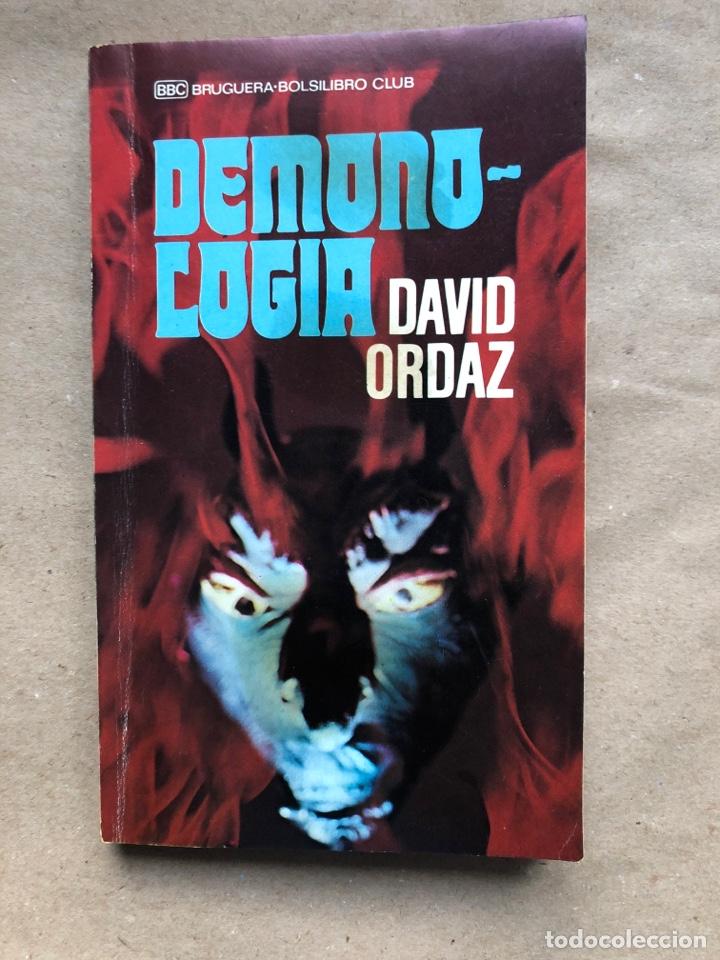 DEMONOLOGIA. DAVID ORDAZ. EDITORIAL BRUGUERA 1977. (Libros de Segunda Mano - Parapsicología y Esoterismo - Otros)