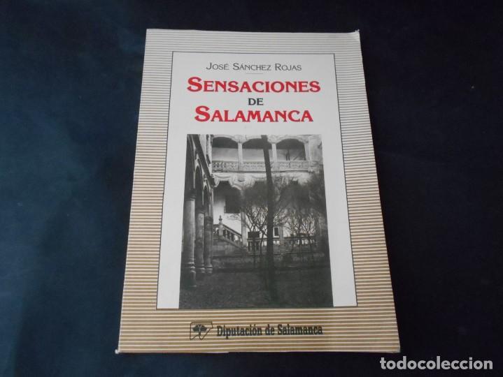 LIBRO DE SENSACIONES DE SALAMANCA (Libros de Segunda Mano - Historia - Otros)