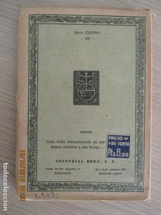 Libros de segunda mano: CLÁSICOS EBRO. CALDERÓN. LA VIDA ES SUEÑO. ZARAGOZA. RAFAEL GASTON. 1947 - Foto 3 - 136500538