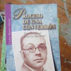 Libros de segunda mano: LIBRO PROCESO DE UNA CONVERSIÓN CARLOS BARRES GARCÍA 2000 ED. SAN PABLO L-5798-634. Lote 136501658