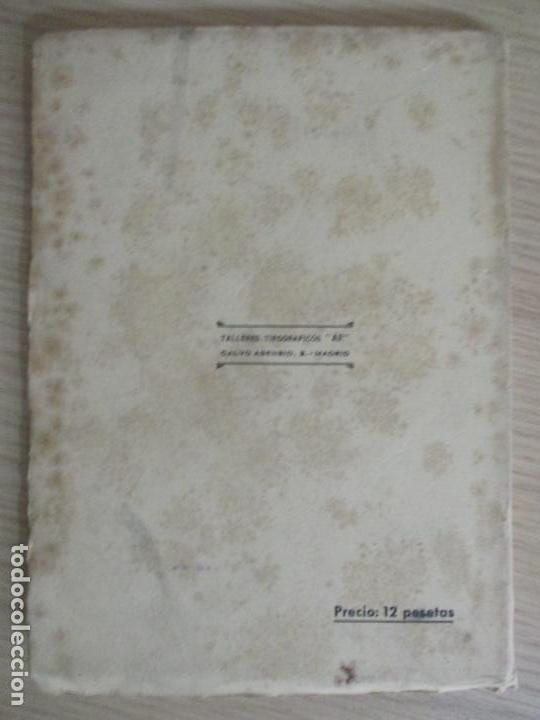 Libros de segunda mano: JOSE ANTONIO NOVAIS. CALLE DEL RELOJ. MADRID 1950. - Foto 4 - 136507486