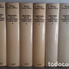 Libros de segunda mano: HISTÒRIA DE LA LITERATURA CATALANA 8 VOLUMS - MARTÍN DE RIQUER / ANTONI COMAS / JOAQUIM MOLAS. Lote 136553830