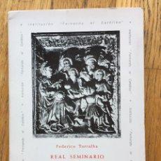 Livres d'occasion: REAL SEMINARIO DE SAN CARLOS BORROMEO DE ZARAGOZA. Lote 136587318