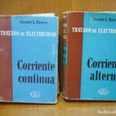 Libros de segunda mano: CORRIENTE CONTINÚA I Y II. Lote 136613050