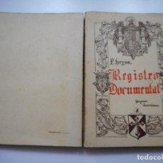 Libros de segunda mano: REGISTRO DOCUMENTAL, MATERIAL INÉDITO DOMINICANO ESPAÑOL(TOMO II) Y90616 . Lote 136614950