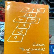 Libros de segunda mano: JUEGOS TRADICIONALES DE REDOVÁN JOAQUÍN BAS ROS - ORIHUELA. Lote 136646790