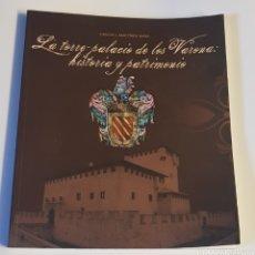 Libros de segunda mano: LIBRO - TORRE PALACIO DE LOS VARONA - HISTORIA Y PATRIMONIO - TDK213. Lote 136650952