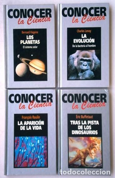 LOTE CONOCER LA CIENCIA 4T POR JORGE WAGENSBERG DE ED. RBA EN BARCELONA 1994 (Libros de Segunda Mano - Ciencias, Manuales y Oficios - Otros)