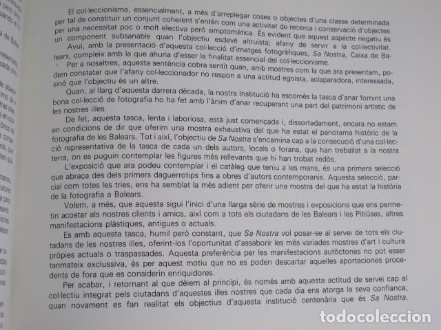 Libros de segunda mano: Fotografia a Balears. Maria Josep Mulet i Vicenç Matas. Sa Nostra - Foto 3 - 136705058