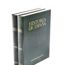 Libros de segunda mano: HISTORIA DE ESPAÑA II. LA EDAD MEDIA (S. V AL XII) / III. (S. XIII AL XV) - MARTÍN, JOSÉ LUIS. Lote 136721937