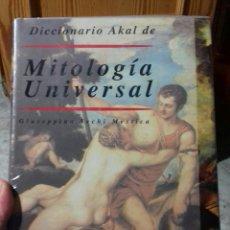 Libros de segunda mano: DICCIONARIO AKAL DE MITOLOGIA UNIVERSAL. Lote 136808506