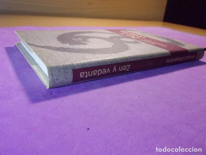Libros de segunda mano: ZEN Y VEDANTA / Arnaud Desjardins / 2000. Círculo de lectores - Foto 4 - 137098918