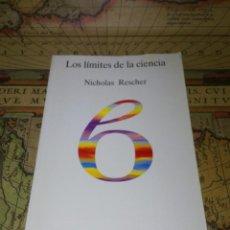 Libros de segunda mano: LOS LÍMITES DE LA CIENCIA. NICHOLAS RESCHER. TECNOS 1994. . Lote 137108882