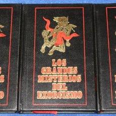 Libros de segunda mano: LOS GRANDES MISTERIOS DEL EXORCISMO - CÍRCULO DE AMIGOS DE LA HISTORIA (1977). Lote 137117954