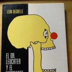 Libros de segunda mano: EL DOCTOR LEUCHTER Y EL FASCINANTE HITLER LEON DEGRELLE LIBRERIA EUROPA AÑOS 80 GASTOS ENVIO GRATIS. Lote 137130914