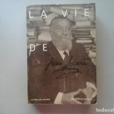 Libros de segunda mano: MARCELLE AUCLAIR. LA VIE DE JEAN JAURÈS.DEDICATORIA AUTÓGRAFA. 1ª ED.1954. FIRMADO.SOCIALISMO. RARO.. Lote 137136190