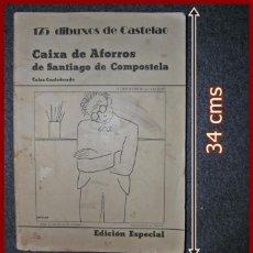 Libros de segunda mano: 175 DIBUJOS DE CASTELAO. 1ª EDICIÓN. EDICIÓN ESPECIAL DE 1976.. Lote 137171134