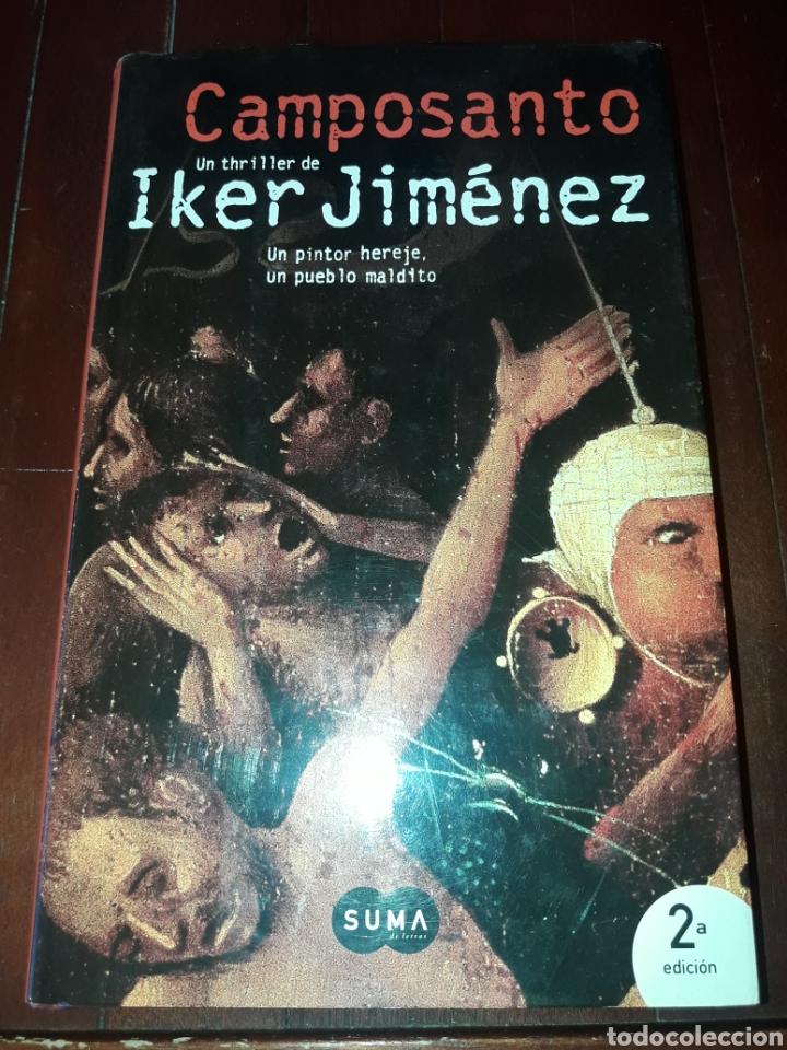 CAMPOSANTO IKER JIMENEZ (Libros de Segunda Mano - Parapsicología y Esoterismo - Otros)