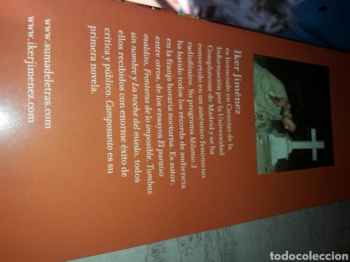 Libros de segunda mano: Camposanto Iker Jimenez - Foto 2 - 137195398