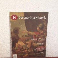 Livres d'occasion: DESCUBRIR LA HISTORIA (1) - ALEJANDRO MAGNO. ENTRE LO HUMANO Y LO DIVINO. Lote 164058170