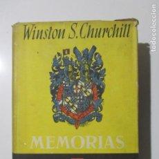 Libros de segunda mano: WINSTON CHURCHILL. MEMORIAS. LA SEGUNDA GUERRA MUNDIAL. LA GRAN ALIANZA. 1950. Lote 137201822