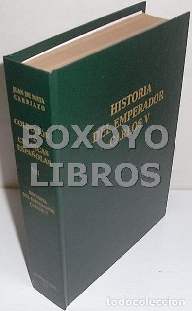 Libros de segunda mano: MEXÍA, Pero. Historia del emperador Carlos V. Edición y estudio por Juan de Mata Carriazo - Foto 2 - 137271042