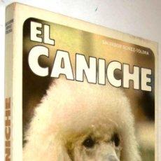 Libros de segunda mano: EL CANICHE - SALVADOR GOMEZ-TOLDRA - ILUSTRADO *. Lote 137326302