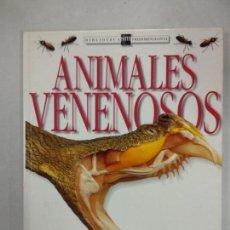 Libros de segunda mano - ANIMALES VENENOSOS. BIBLIOTECA SM TRIDIMENSIONAL. TESESA GREENWAY. EDICIONES SM. - 137357098