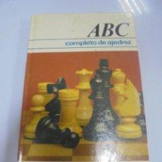 Libros de segunda mano: COMPLETO DE AJEDREZ. ABC. RAMON CRUSI MORE. 1978. CIRCULO DE LECTORES. Lote 137398990