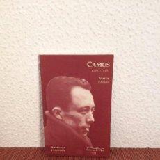 Libros de segunda mano: CAMUS (1913-1960) - MARLA ZÁRATE - ED. DEL ORTO. Lote 176622473