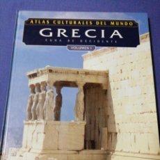 Libros de segunda mano: ATLAS CULTURALES DEL MUNDO. GRECIA. VOLUMEN I. Lote 137483877