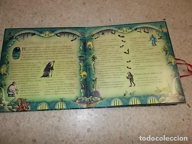 Libros de segunda mano: EL CASTILLO DEL MIEDO.UN LIBRO ESCALOFRIANTE. LIBRO DESPLEGABLE(POP-UPS). ED. SM. 2007. UNA JOYITA!! - Foto 8 - 137492426