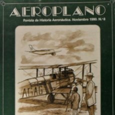 Libros de segunda mano: AEROPLANO DESEMBARCO DE ALHUCEMAS. PROYECTOS ESPAÑOLES DE AERONAVES.. Lote 137495814