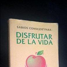 Libros de segunda mano: SABIOS CONSEJOS PARA DISFRUTAR DE LA VIDA POR EL GURU DE LA CALMA. PAUL WILSON. SALAMANDRA 2005 1ª E. Lote 270530503