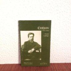 Libros de segunda mano: CHÉJOV (1860-1904) - VÍCTOR GALLEGO - ED. DEL ORTO. Lote 160003836