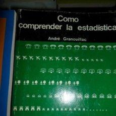Libros de segunda mano: CÓMO COMPRENDER LA ESTADÍSTICA, ANDRÉ GRANOUILLAC, ED. IBÉRICO EUROPEA DE EDICIONES. Lote 137593354