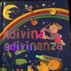Libros de segunda mano: ADIVINA ADIVINANZA. SERVILIBRO EDICIONES. Lote 137672998