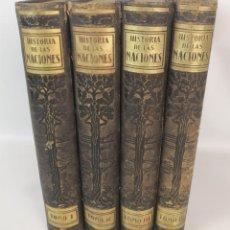 Libros de segunda mano: HISTORIA DE LAS NACIONES. 4 TOMOS. VARIOS AUTORES. EDIT SEGUÍ. BARCELONA.. Lote 137719142