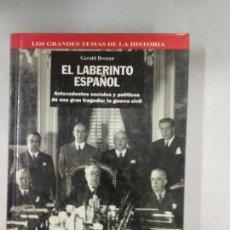 Libros de segunda mano: GERALD BRENNAN: EL LABERINTO ESPAÑOL. Lote 137751582