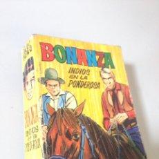 Libros de segunda mano: BONANZA INDIOS EN LA PONDEROSA. Lote 137775464