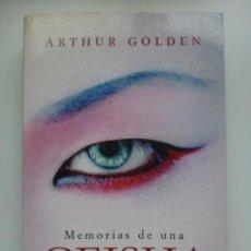 Libros de segunda mano: MEMORIA DE UNA GEISHA. Lote 137891142
