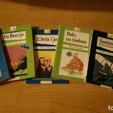 Libros de segunda mano: LOTE 5 LIBROS. COLECCIÓN «LA PETITA ODISSEA». EDITORIAL EMPÚRIES. Lote 137990230