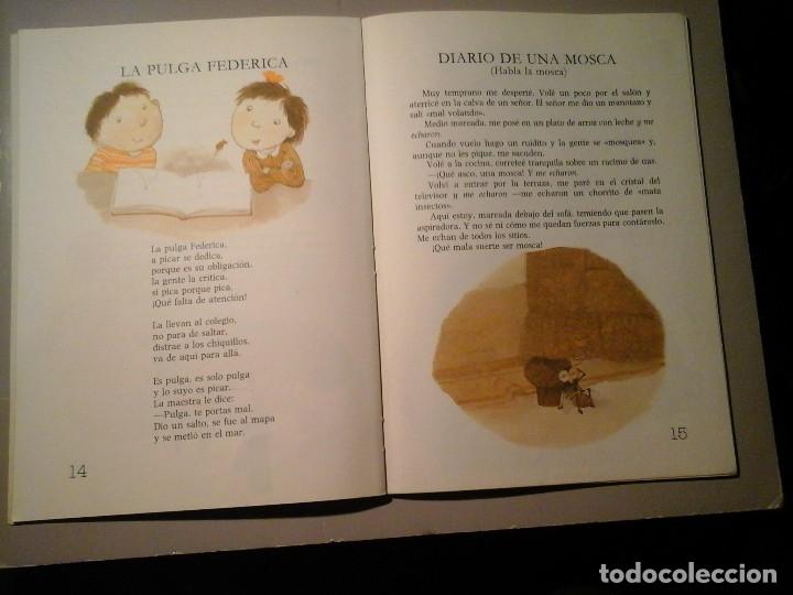 Libros de segunda mano: GLORIA FUERTES. COCOLOCO POCOLOCO. PRINCESAS TRAVIESAS. 1ª EDICIÓN 1985. ULISES WENSELL. RARO. - Foto 5 - 138080286