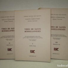 Libros de segunda mano: VIDES DE SANTS ROSSELLONESES... MANEIKIS KNIAZZEH, CHARLOTTE S., NEUGAARD, EDWARD J. 1977.. Lote 138104398