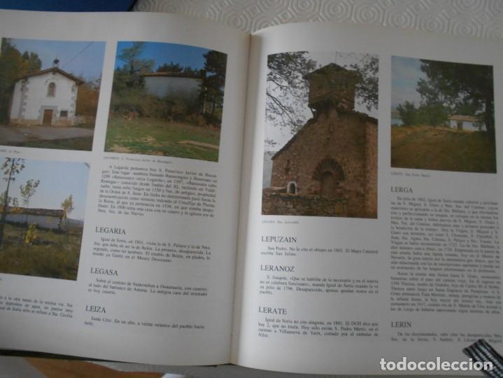 Libros de segunda mano: ERMITAS DE NAVARRA. FERNANDO PEREZ OLLO. CAJA DE AHORROS DE NAVARRA. 1983. TAPA DURA. FOTOGRAFIAS EN - Foto 2 - 138151498