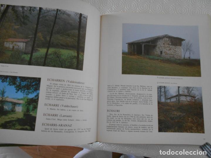 Libros de segunda mano: ERMITAS DE NAVARRA. FERNANDO PEREZ OLLO. CAJA DE AHORROS DE NAVARRA. 1983. TAPA DURA. FOTOGRAFIAS EN - Foto 3 - 138151498
